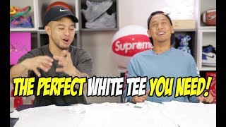 THE PERFECT WHITE TEE  WHICH ONE SHOULD YOU GET?
