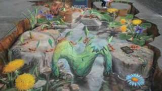 The Pavement Picasso Julian Beever
