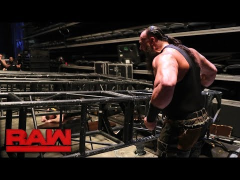Xxx Mp4 Braun Strowman Pulls Part Of The Raw Set Down On Top Of Kane And Brock Lesnar Raw Jan 8 2018 3gp Sex