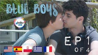 Meninos Tristes (Blue Boys, 2016) EP 01 Web serie Gay Curta - English Español French Subtitles