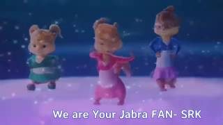 Jabra FAN Anthem Song in chipmunk crazy version!   Shah Rukh Khan   FanAnthem   YouTube