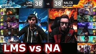 LMS vs NA LCS | LoL All-Star Event 2016 Day 2 | ICE vs FIRE - LMS vs NA