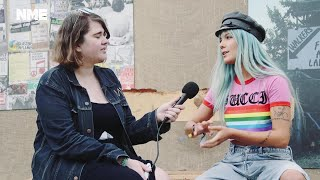 Halsey at Glastonbury 2017: The pop star on missing the mud, reigning the charts and Romeo & Juliet