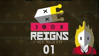 REIGNS HER MAJESTY | QUEEN TINDER SIMULATOR #01 - Let