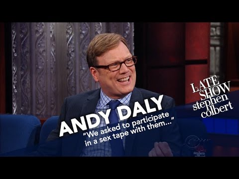 Andy Daly Acted Alongside A 4 000 Hyperrealistic Sex Doll