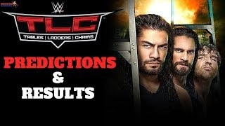 WWE TLC 2017 PREDICTIONS & RESULTS! [100% CORRECT]