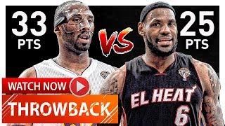 Throwback: Kobe Bryant vs LeBron James EPIC Duel Highlights (2012.03.04) Lakers vs Heat - MUST SEE!