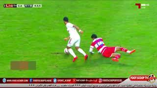 مراوغة حمزة لحمر لأسامة الدراجي في مباراة ( النادي الإفريقي vs النجم الساحلي)