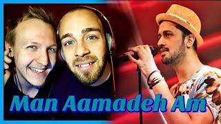 Gul Panrra & Atif Aslam, Man Aamadeh Am, Coke Studio, Season 8, Episode 3 | Reaction by RnJ