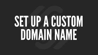 Squarespace Tutorial: Set Up a Custom Domain Name