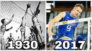 Volleyball Evolution 1930 - 2017 (HD)