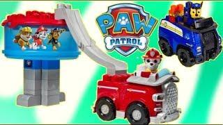 PAW PATROL Ionix Lookout HeadQuarters Construct Play Set LEGO, Megabloks, Chase, Marshall Toy TUYC