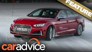 Ice drifting in Sweden: 2017 Audi S5 | A CarAdvice Feature