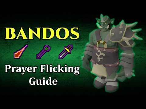 Bandos Solo Prayer Flicking Guide (Great for Ironman) - OSRS / 2007 RuneScape [2016]