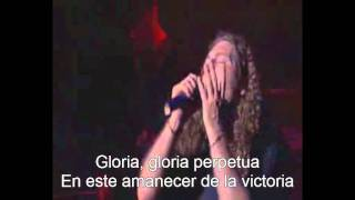 Rhapsody Of Fire - Dawn Of Victory (Subtitulos Español) (Live)