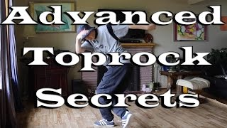 Bboy Tutorial | Secrets to getting Faster and Cleaner Toprock.