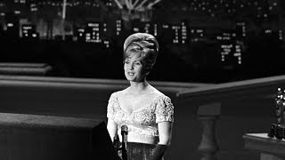 Debbie Reynolds presents Documentary Oscars® in 1964