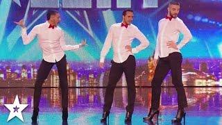 MEN IN HEELS Dance INCREDIBLE SPICE GIRLS Tribute on Britain