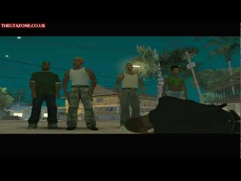 GTA San Andreas FINAL MISSION End Of The Line HD