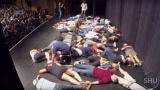 AMAZING HYPNOTIC POWER - WATCH THEM DROP! - Stage Hypnosis University