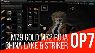 Lv: 69 Secundarias: M79 Gold M72 Roja China Lake Striker Slots: 18 Partes: Doradas I Operation7