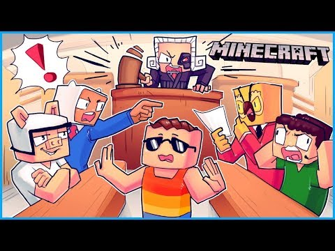 This is the dumbest trial in the history of the people s court Minecraft ep 14