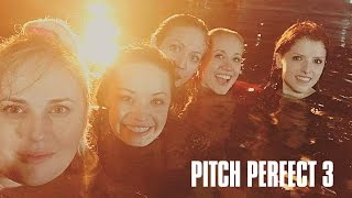 Pitch Perfect 3 On The Set - Bellas In The Pool | Instagram LIVE Video