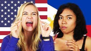 Americans & Filipinos Swap Snacks