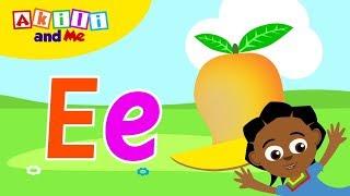 """Unajua Herufi """"E""""?   Jifunze Alfabeti na Akili and Me   Katuni za Elimu kwa Kiswahili"""