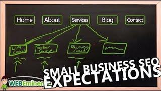 Small Business Website - SEO Keyword Ranking Expectations