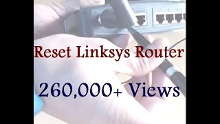 How To Factory Reset a Linksys Router Watch at Video Online.pk