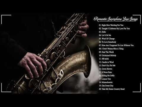 Top 50 Saxophone Romantic Love Songs Instrumental Best Relaxing Instrumental Music