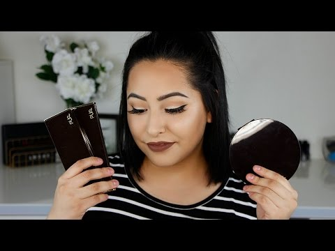Pur Cosmetics Highlight/Contour Palettes First Impression |MissTiffanyKaee