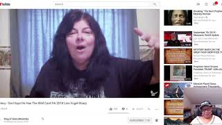 Yahweh Have The Wild Card by Lois Sharp! Bryan Searle Urgent Message!  News!