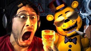 GOLDEN FREDDY'S DARKEST SECRETS   Five Nights at F**kboy's 3 DRUNK - Part 6