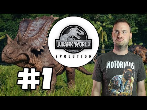 Sips Plays Jurassic World Evolution (11/6/2018) - #1 - Jeff Goldblum's Helping Hand