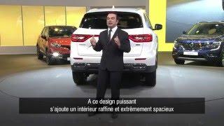 New Renault KOLEOS: press conference // Nouveau Renault KOLEOS : conférence de presse