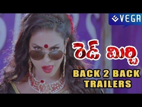 Red Mirchi Telugu Movie : Back 2 Back Trailers : Latest Telugu Movie 2015