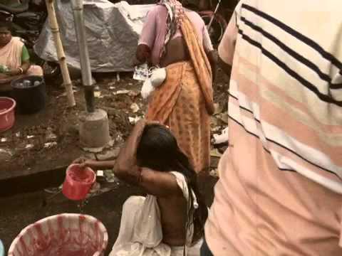 Women Bathing Near Kalighat, Kolkata