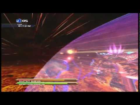 Sonic Unleashed 360 Part 53 Boss Perfect Dark Gaia Ending