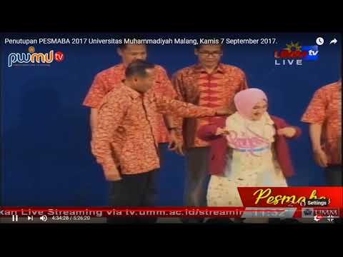 Fatin Shidqia Lubis Kenakan Jas Umm Live Universitas Muhammadiyah Malang