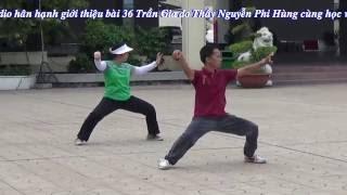 (Video Full HD) Bài 24 Thái Cực Quyền. ( Do Thầy Tuấn Hùng TTVH quận 5 biểu diễn)