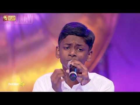 Super Singer Junior - Then Madurai Vaigai Nadhi by Bavin