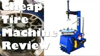 Cheap Tire Changer 560 Mounting Machine Unboxing, Test, and Review