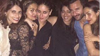 Kareena Kapoor Hot Birthday Party 2015 With Malaika Arora Khan, Amrita Arora & Karishma Kapoor