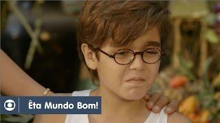 Êta Mundo Bom!: capítulo 164 da novela, terça, 26 de julho, na Globo