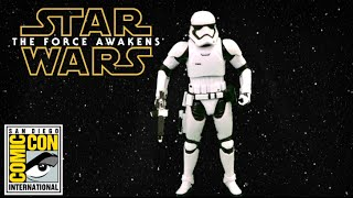 Comic-Con Exclusive Star Wars The Force Awakens The Black Series First Order Stormtrooper