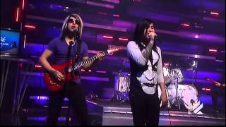 Escape The Fate - Gorgeous Nightmare - Live on The Daily Habit (Fuel TV)