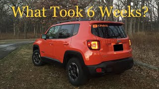 Lengthy Warranty Repair For 2015 Jeep Renegade