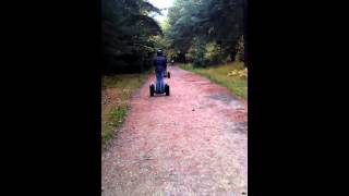 High speed off-road segway riding!
